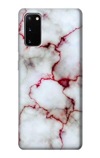 Printed Bloody Marble Samsung Galaxy S20 Case