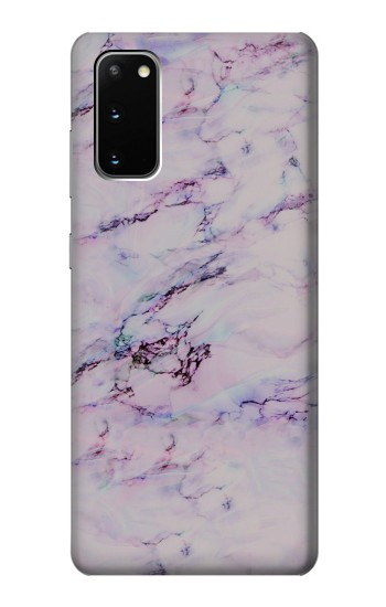 Printed Seamless Pink Marble Samsung Galaxy S20 Case
