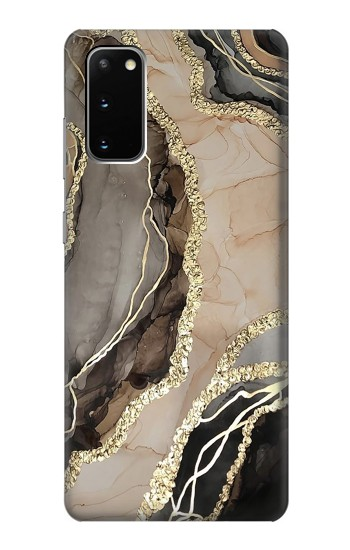 Printed Marble Gold Graphic Printed Samsung Galaxy S20 Case