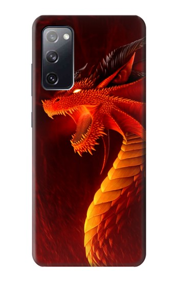 Printed Red Dragon Samsung Galaxy S20 FE Case