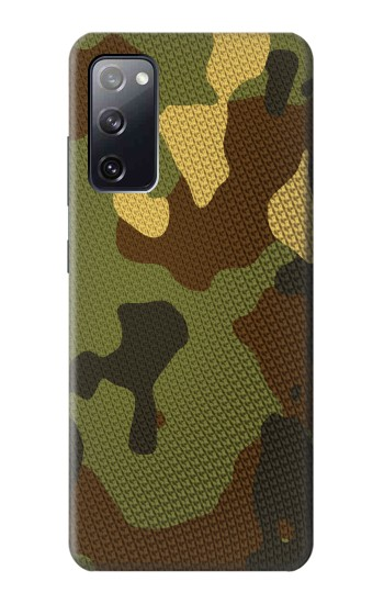 Printed Camo Camouflage Graphic Printed Samsung Galaxy S20 FE Case