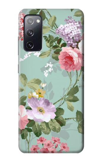 Printed Flower Floral Art Painting Samsung Galaxy S20 FE Case