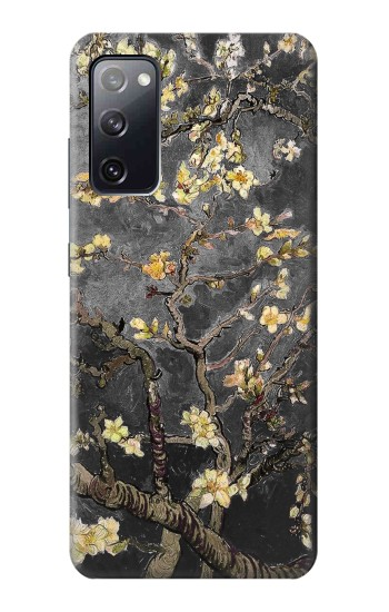 Printed Black Blossoming Almond Tree Van Gogh Samsung Galaxy S20 FE Case