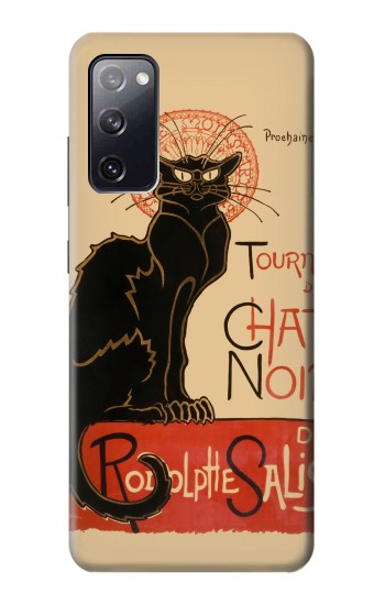 Printed Chat Noir The Black Cat Samsung Galaxy S20 FE Case