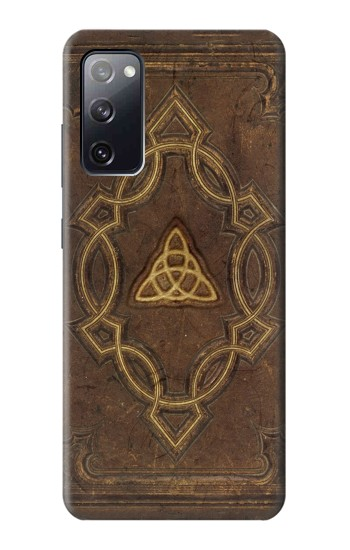 Printed Spell Book Cover Samsung Galaxy S20 FE Case