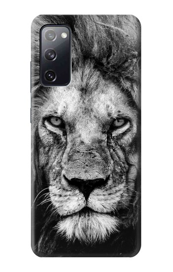 Printed Lion Face Samsung Galaxy S20 FE Case