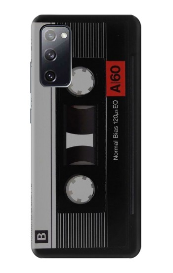 Printed Vintage Cassette Tape Samsung Galaxy S20 FE Case