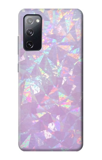 Printed Iridescent Holographic Photo Printed Samsung Galaxy S20 FE Case