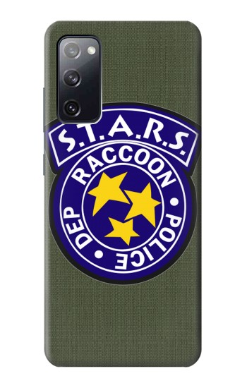 Printed Resident Evil Star Badge Chris Outfit Samsung Galaxy S20 FE Case
