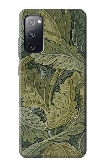 Printed William Morris Acanthus Leaves Samsung Galaxy S20 FE Case