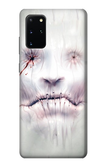 Printed Horror Face Samsung Galaxy S20+ Case