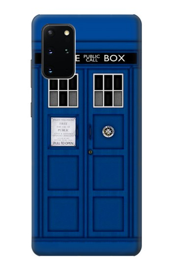 Printed Doctor Who Tardis Samsung Galaxy S20+ Case