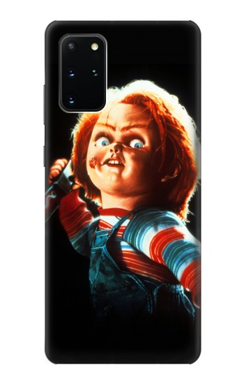 Printed Chucky With Knife Samsung Galaxy S20+ Case