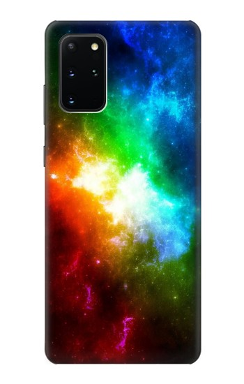 Printed Colorful Rainbow Space Galaxy Samsung Galaxy S20+ Case