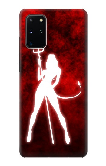 Printed Sexy Devil Girl Samsung Galaxy S20+ Case