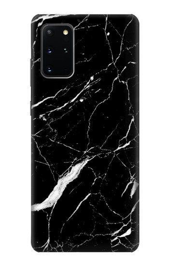 Printed Black Marble Graphic Printed Samsung Galaxy S20+ Case