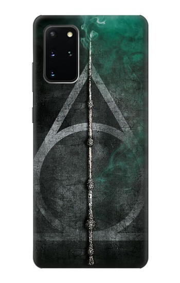 Printed Harry Potter Magic Wand Samsung Galaxy S20+ Case
