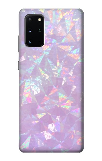 Printed Iridescent Holographic Photo Printed Samsung Galaxy S20+ Case