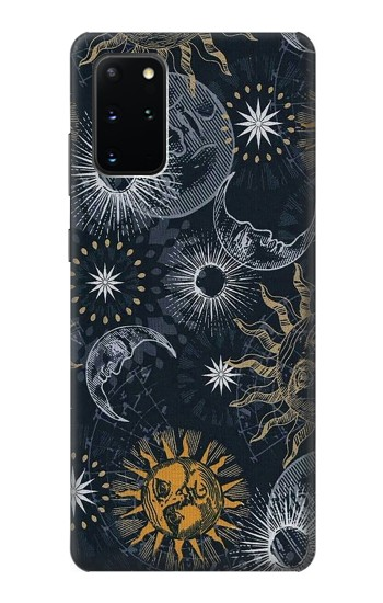 Printed Moon and Sun Samsung Galaxy S20+ Case