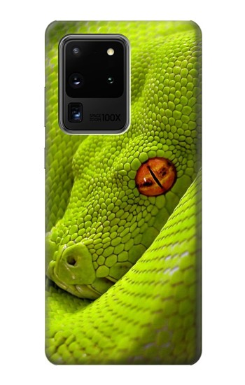 Printed Green Snake Samsung Galaxy S20 Ultra Case