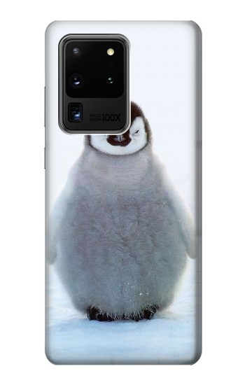 Printed Penguin Ice Samsung Galaxy S20 Ultra Case