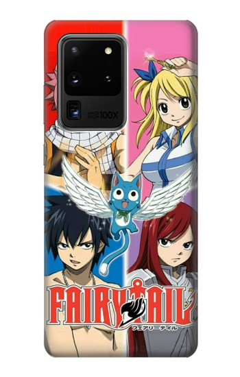 Printed Fairy Tail Member Samsung Galaxy S20 Ultra Case
