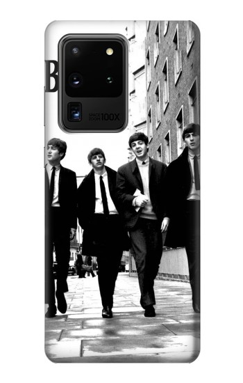 Printed The Beatles in London Samsung Galaxy S20 Ultra Case