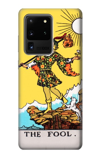 Printed Tarot Card The Fool Samsung Galaxy S20 Ultra Case