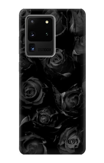 Printed Black Roses Samsung Galaxy S20 Ultra Case