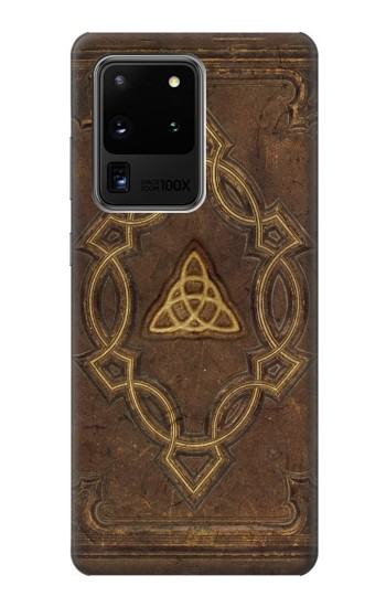 Printed Spell Book Cover Samsung Galaxy S20 Ultra Case