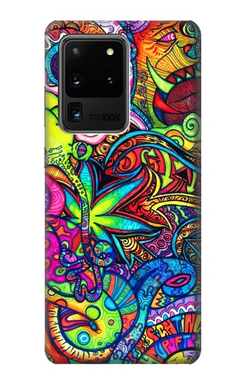 Printed Colorful Art Pattern Samsung Galaxy S20 Ultra Case