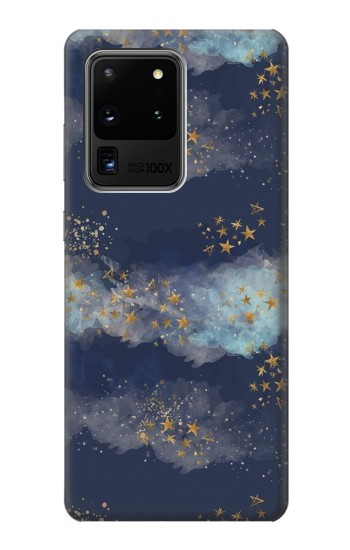 Printed Gold Star Sky Samsung Galaxy S20 Ultra Case