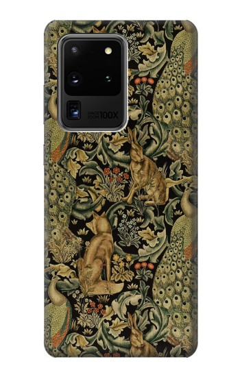 Printed William Morris Forest Velvet Samsung Galaxy S20 Ultra Case