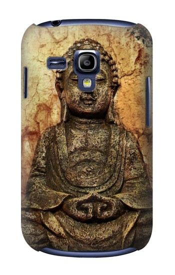 Printed Buddha Rock Carving Samsung Galaxy S3 mini Case