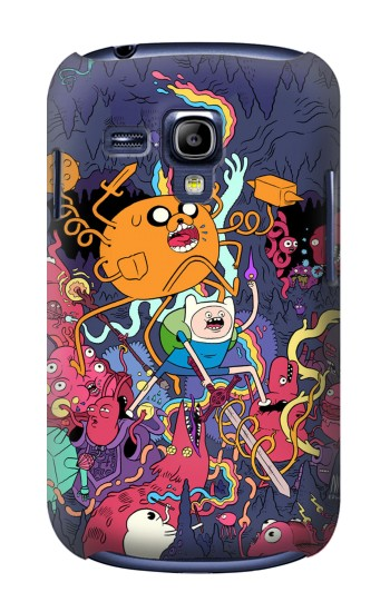 Printed Adventure Time Samsung Galaxy S3 mini Case