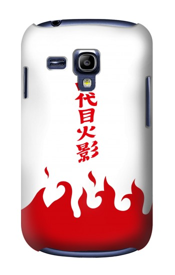 Printed Naruto Yondaime 4th Hokage Minato Namikaze Cloak Samsung Galaxy S3 mini Case