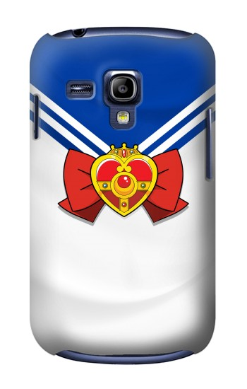 Printed Sailor Moon Brooch and Bow Samsung Galaxy S3 mini Case
