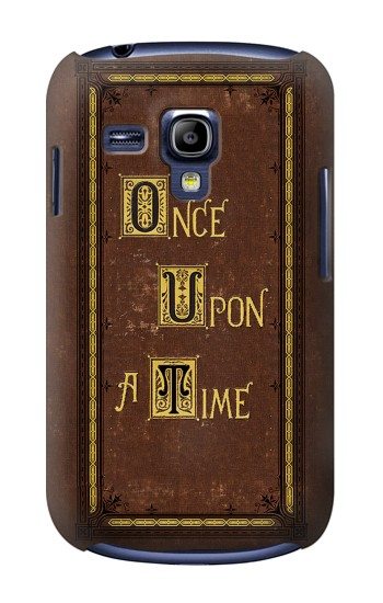 Printed Once Upon a Time Book Cover Samsung Galaxy S3 mini Case