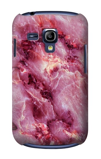 Printed Pink Marble Texture Samsung Galaxy S3 mini Case
