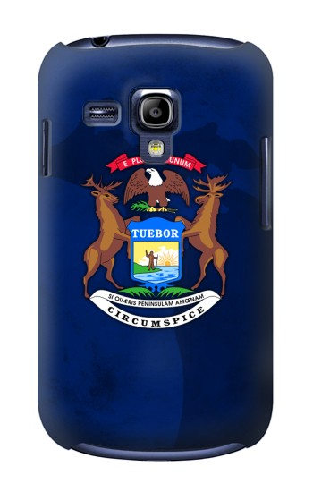 Printed State of Michigan Flag Samsung Galaxy S3 mini Case