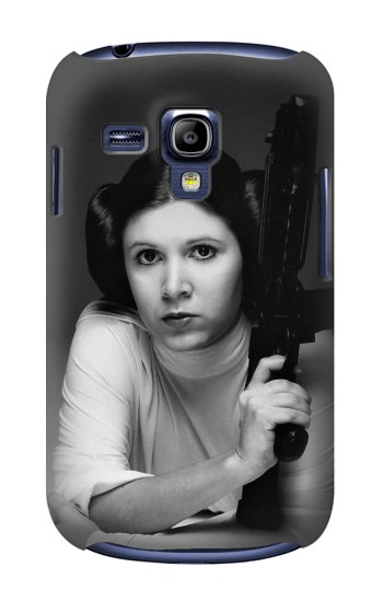 Printed Princess Leia Carrie Fisher Samsung Galaxy S3 mini Case
