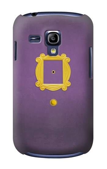 Printed Friends Purple Door Minimalist Samsung Galaxy S3 mini Case
