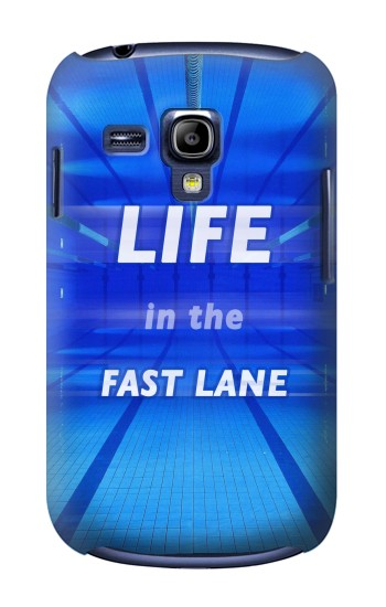 Printed Life in the Fast Lane Swimming Pool Samsung Galaxy S3 mini Case