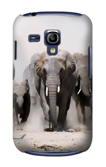 Printed African Elephant Samsung Galaxy S3 mini Case