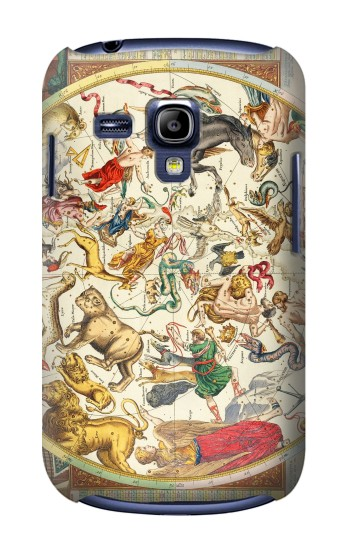 Printed Antique Constellation Map Samsung Galaxy S3 mini Case