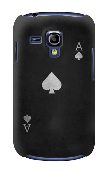 Printed Black Ace of Spade Samsung Galaxy S3 mini Case