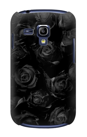 Printed Black Roses Samsung Galaxy S3 mini Case