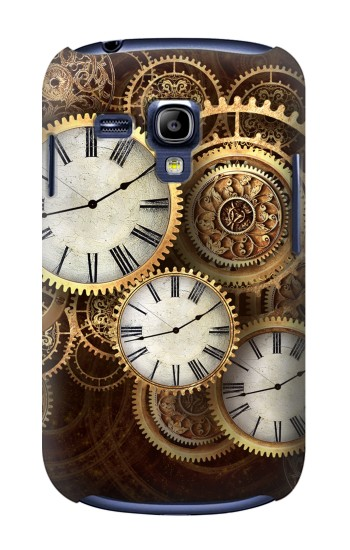 Printed Gold Clock Live Samsung Galaxy S3 mini Case