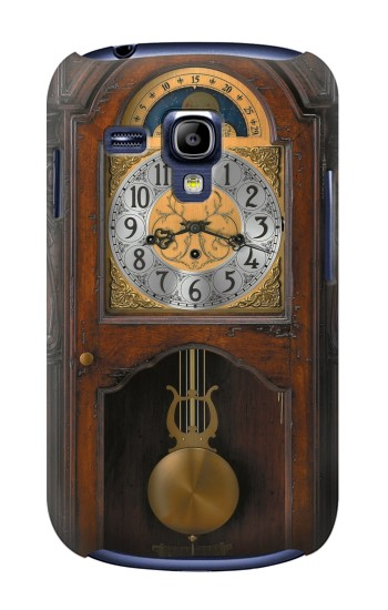 Printed Grandfather Clock Antique Wall Clock Samsung Galaxy S3 mini Case