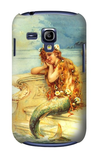 Printed Little Mermaid Painting Samsung Galaxy S3 mini Case
